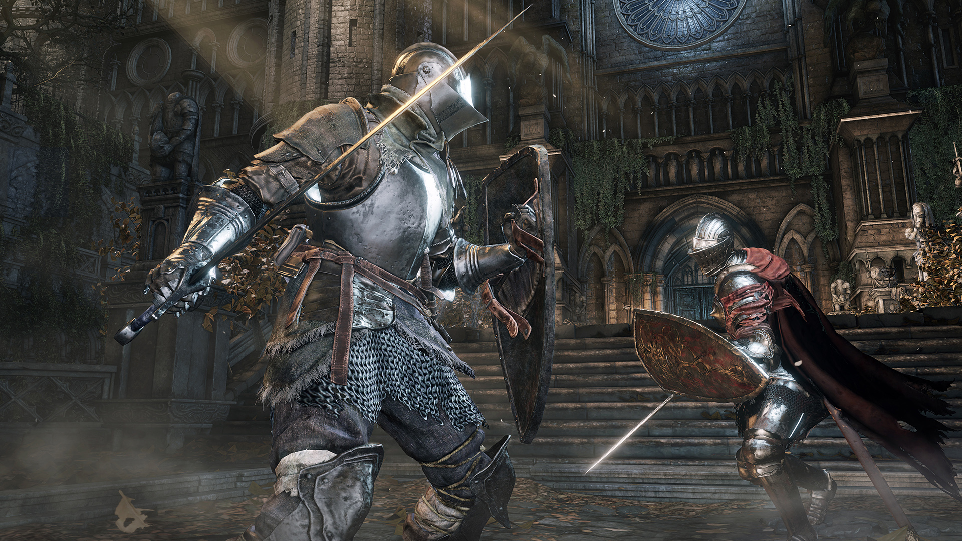 Brand New Dark Souls 3 Footage Highlights Bloodborne Similarities