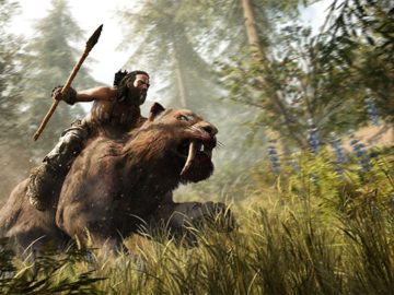 Modern Meets Stone Age In This Behind The Scenes Far Cry Primal Video