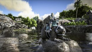 Ride A Giant Beaver With The Latest ARK: Survival Evolved Update
