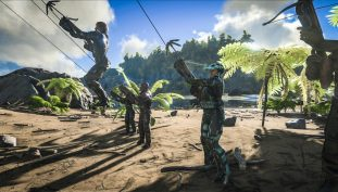 Latest ARK: Survival Evolved Update Adds Terror Birds, Grappling Hook