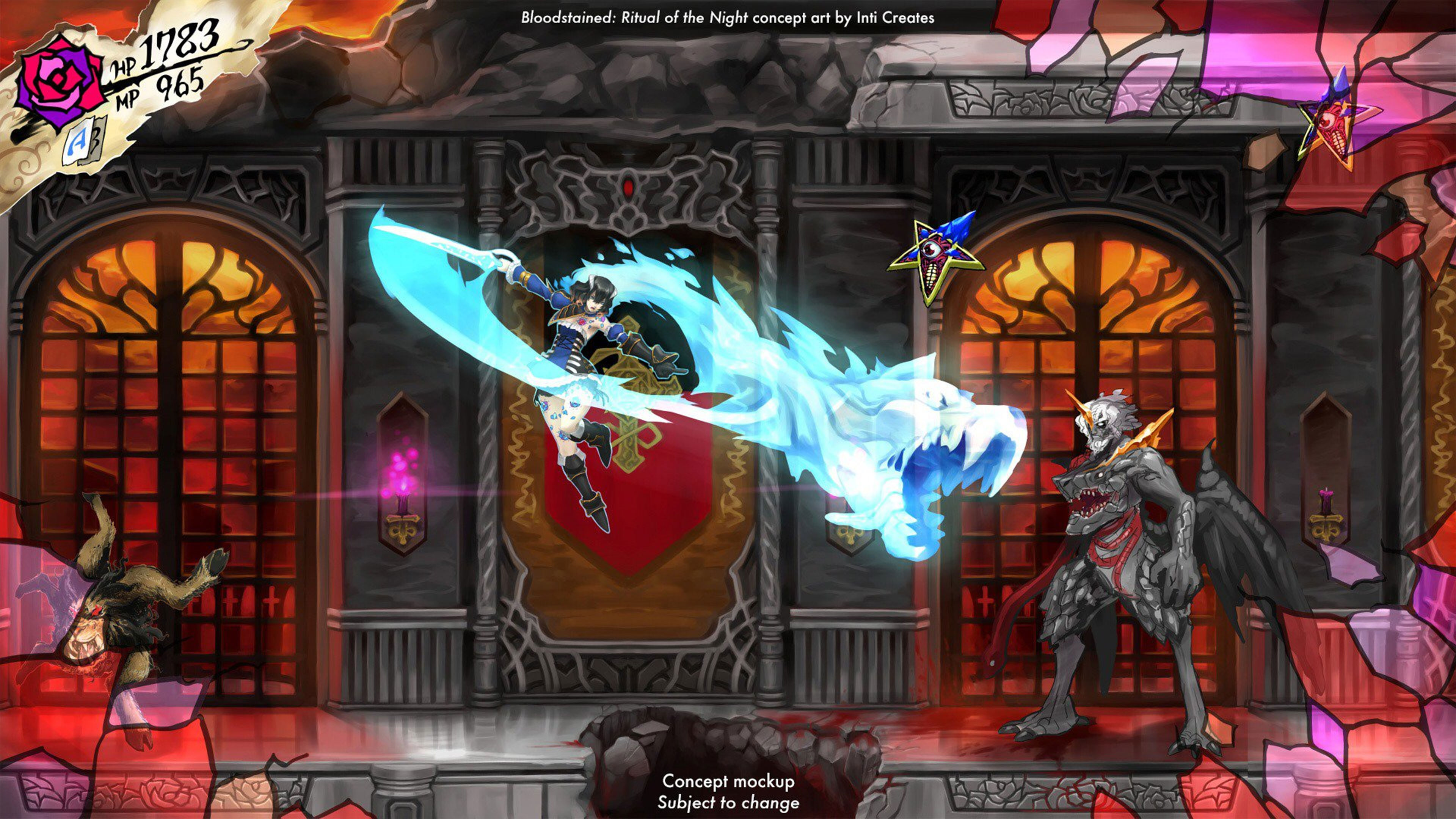 Bloodstained Ritual Of The Night 4K Wallpaper