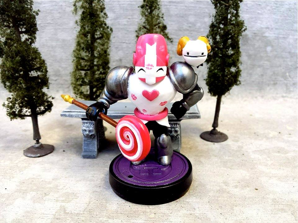 Custom castle Crashers Amiibo