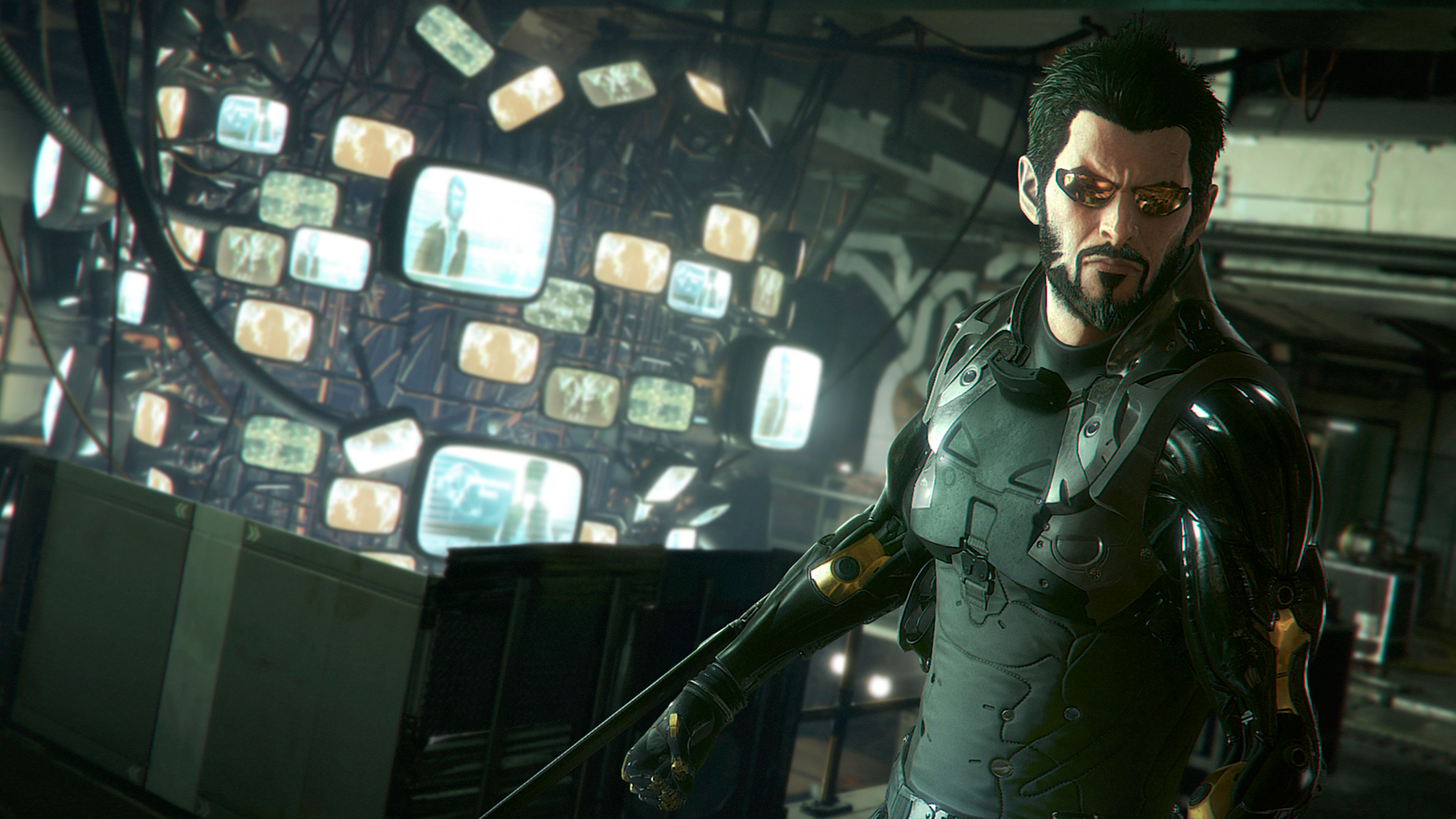 Deus Ex Mankind Divided Wallpapers In Ultra Hd 4k Gameranx