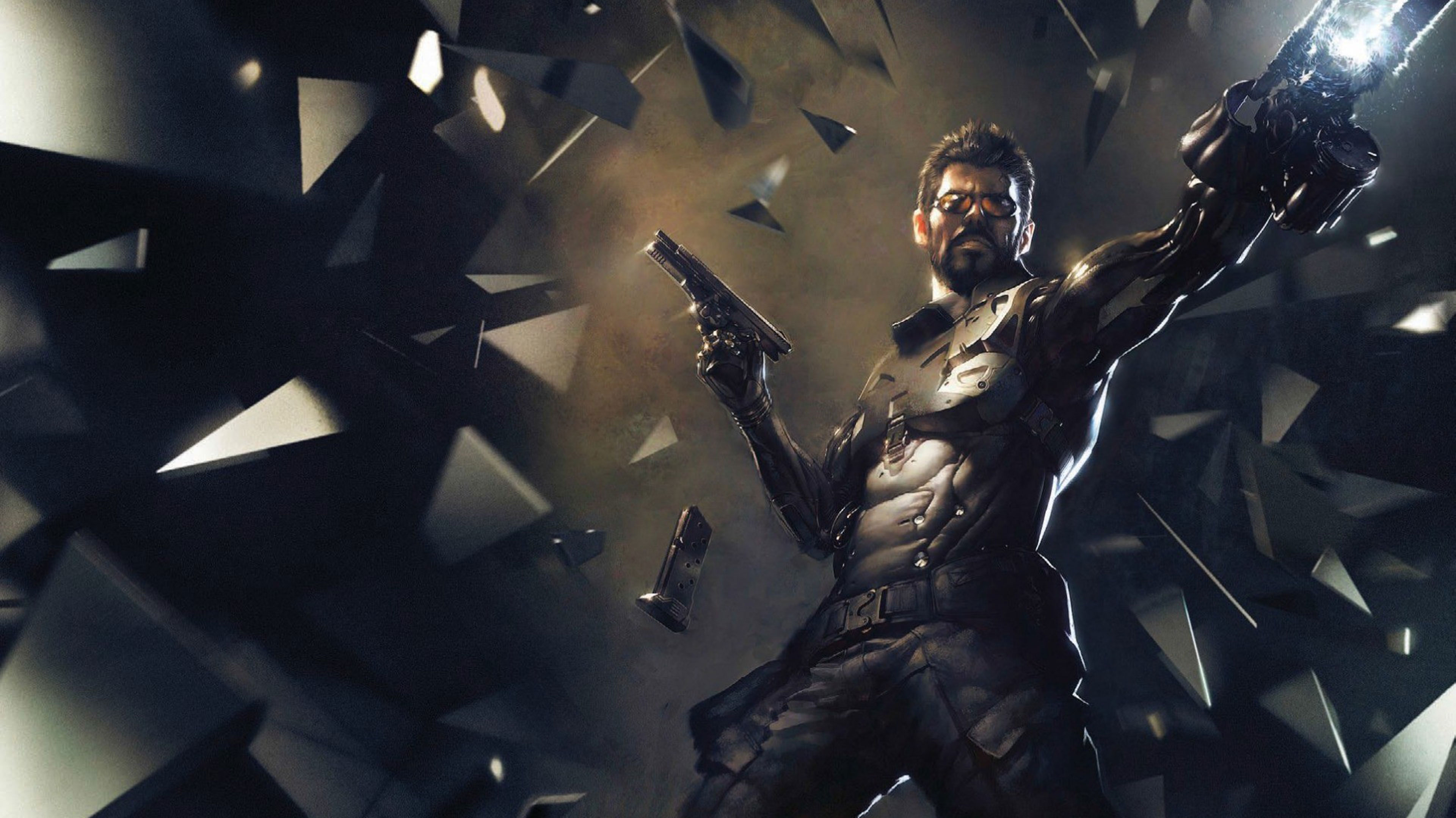Deus Ex Mankind Divided 4K Wallpaper