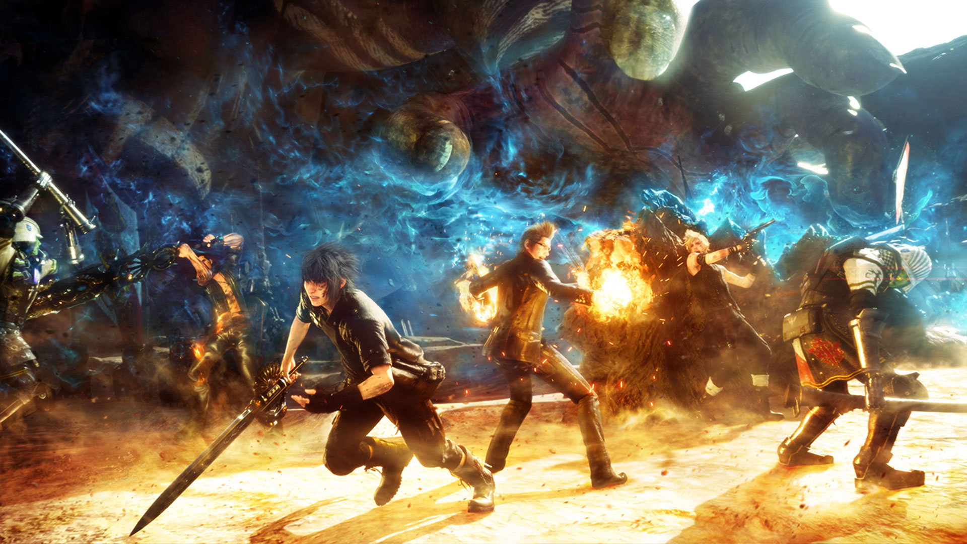 final fantasy 15 wallpaper the hippest