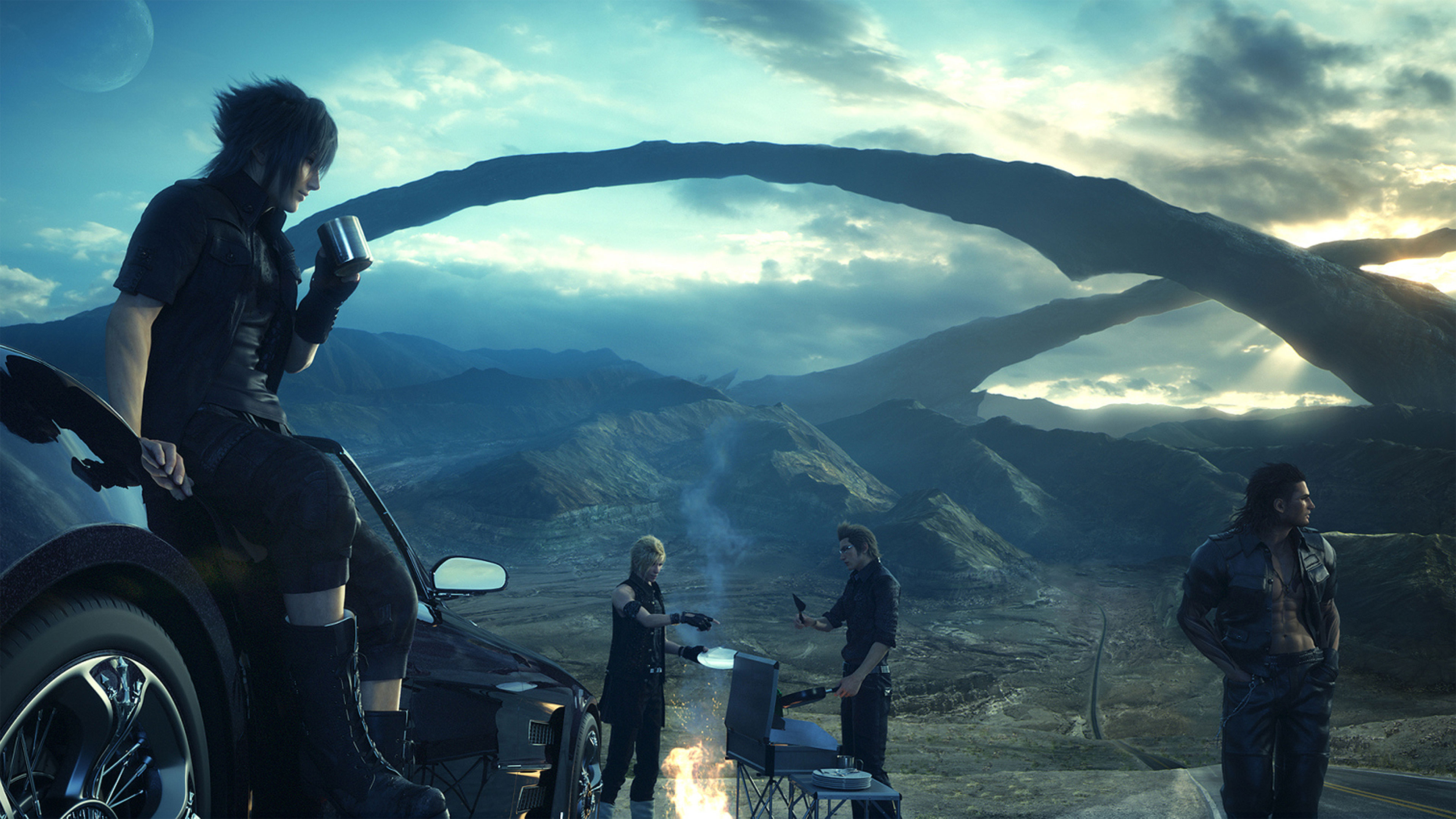 final fantasy xv wallpapers in ultra hd 4k