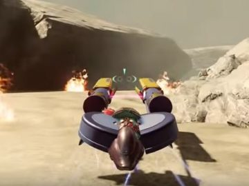 Halo and Star Wars Collide with Pod Racing Forge Map