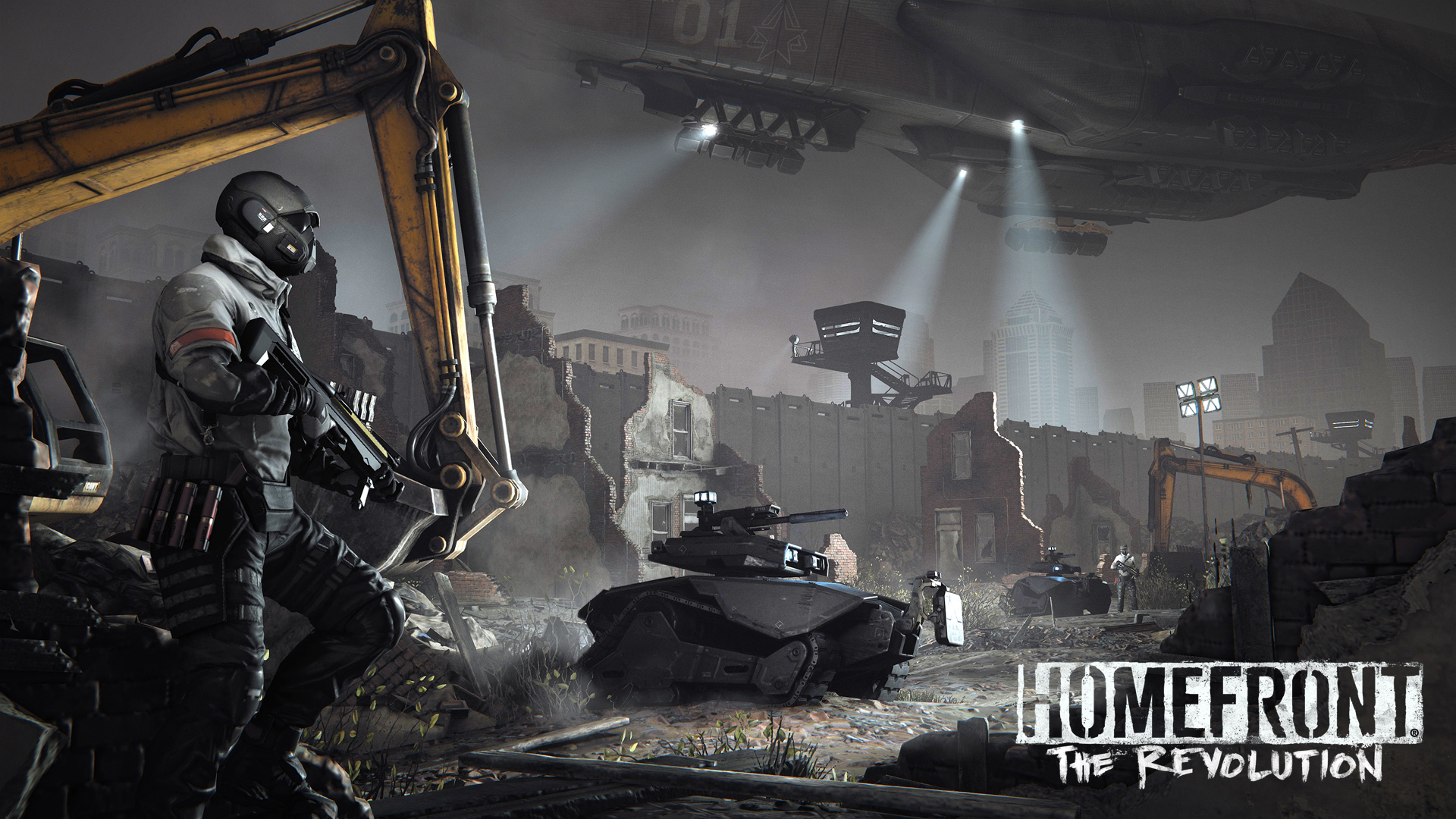 Homefront the revolution wallpapers in ultra hd 4k for Homefront wallpaper