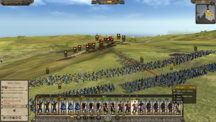 Total War Hound Charge