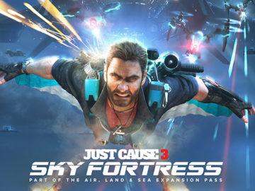 Just Cause 3's Sky Fortress Will Turn You Into A Flying Rocket Launcher