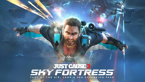Just Cause 3  air land sea expansion key art