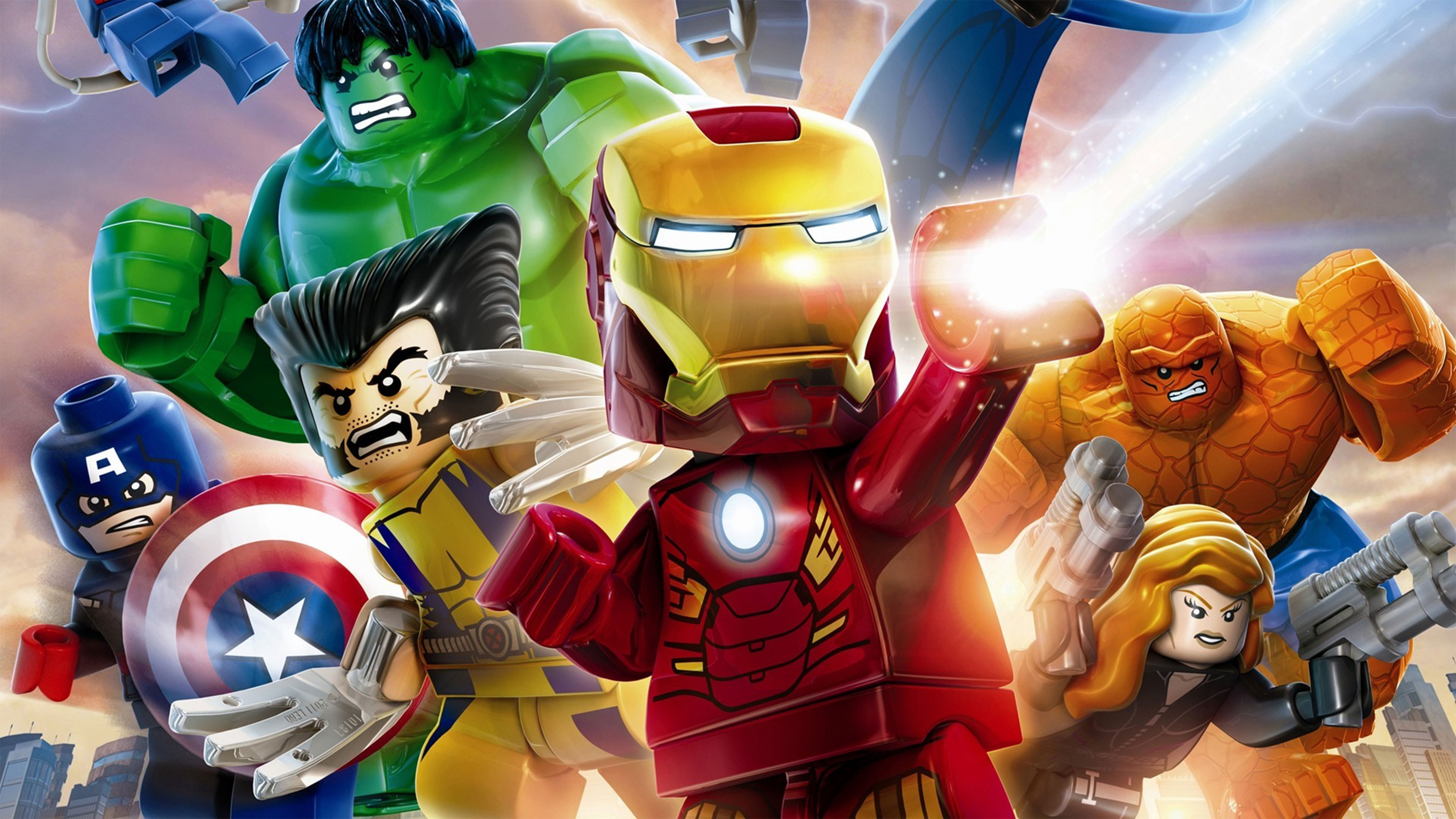 Lego Marvels Avengers Wallpapers in Ultra HD 4K