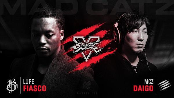Lupe Fiasco Daigo Street Fighter V events
