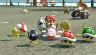 Mario Kart Flash Mob Descends on Shopping Center