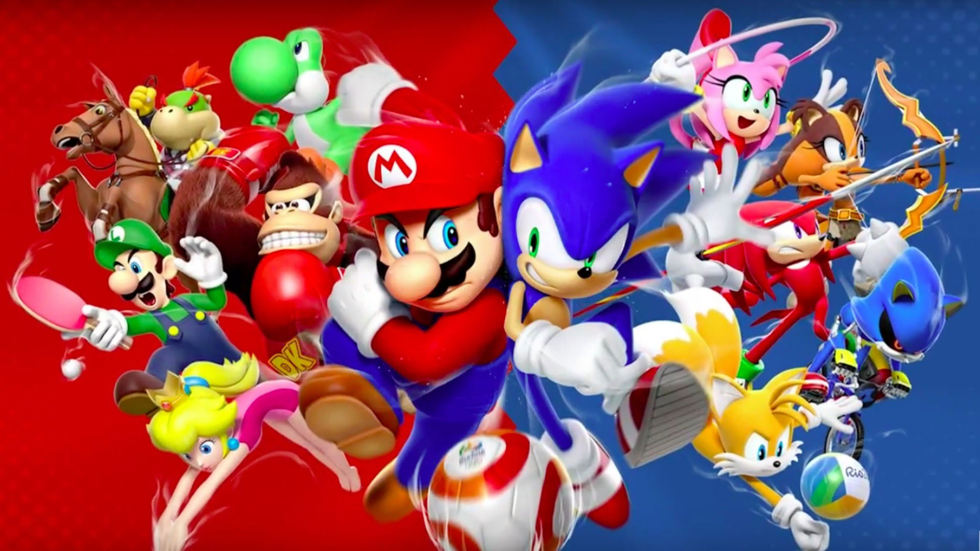 Mario And Sonic At The Rio 2016 Olymic Games 4K Wallpaper