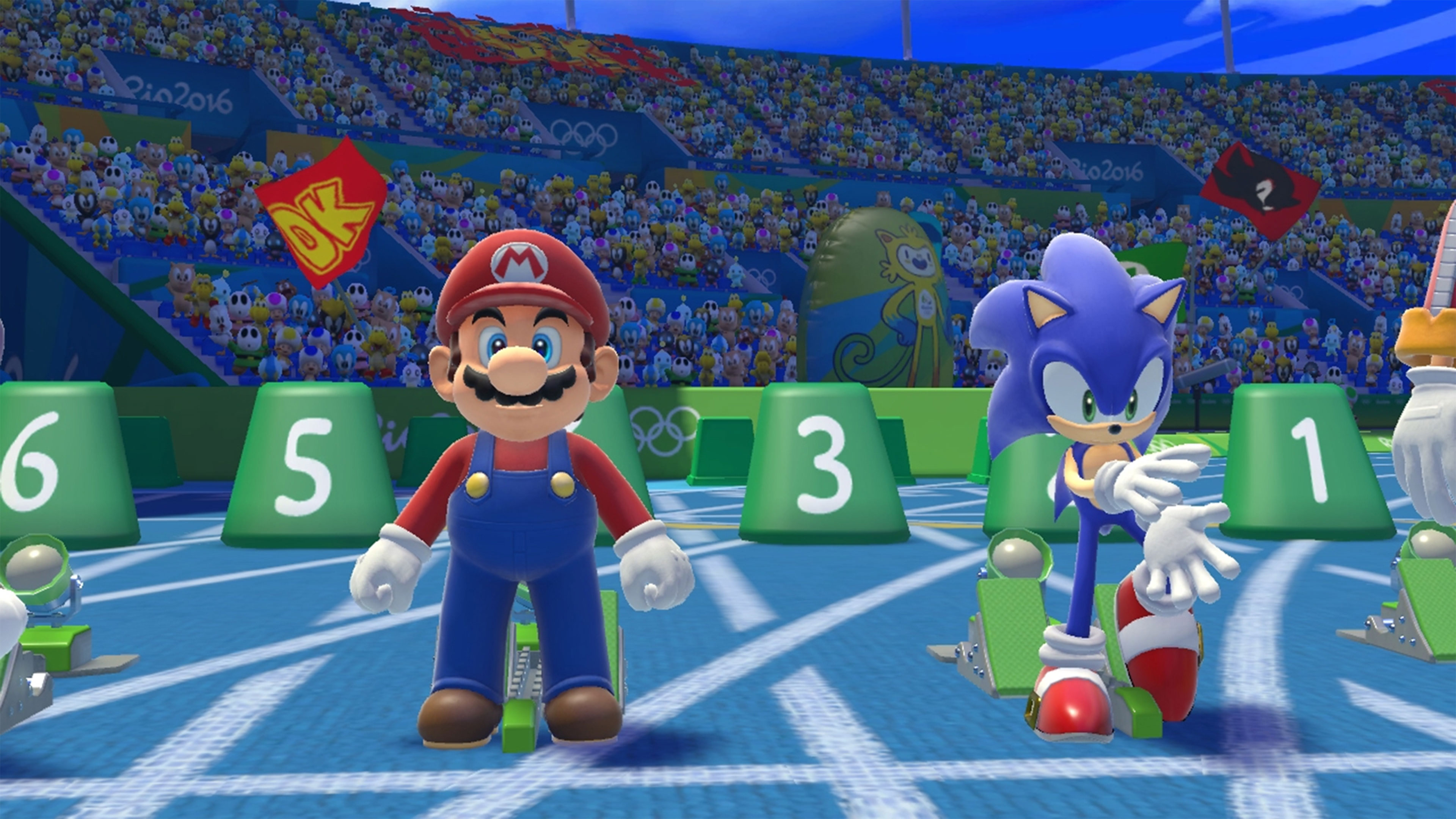 Mario And Sonic At The Rio 2016 Olympic Games Wallpapers In Ultra Hd
