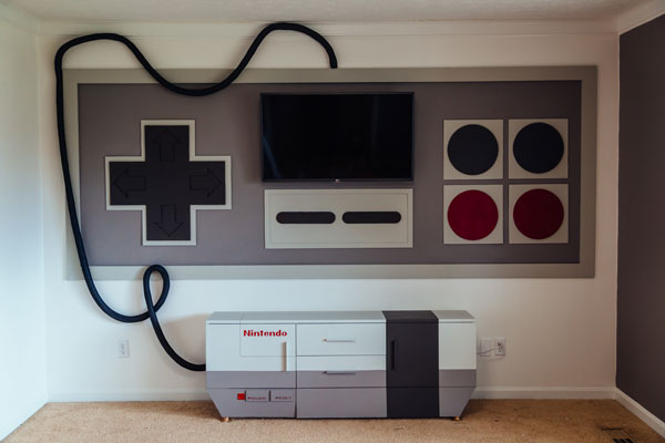 this nes gaming room is the gaming room to end all gaming rooms - Gaming Room