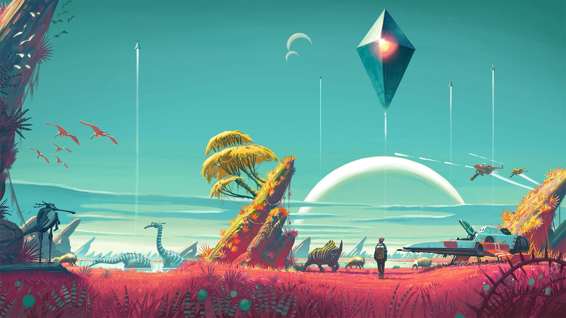 no man's sky wallpapers in ultra hd | 4k