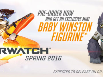 Overwatch Pre-Orders At GameStop Come With Mini Baby Winston