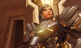 Overwatch Progression Skin Pharah Anubis