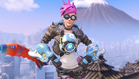 Overwatch Progression Skin Tracer Punk 2