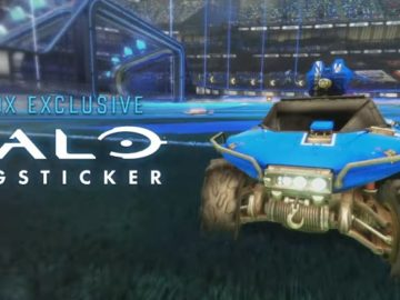 Rocket League Is Available Now On Xbox One, Complete With Halo's Warthog