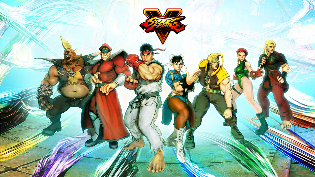 original street fighter game characters