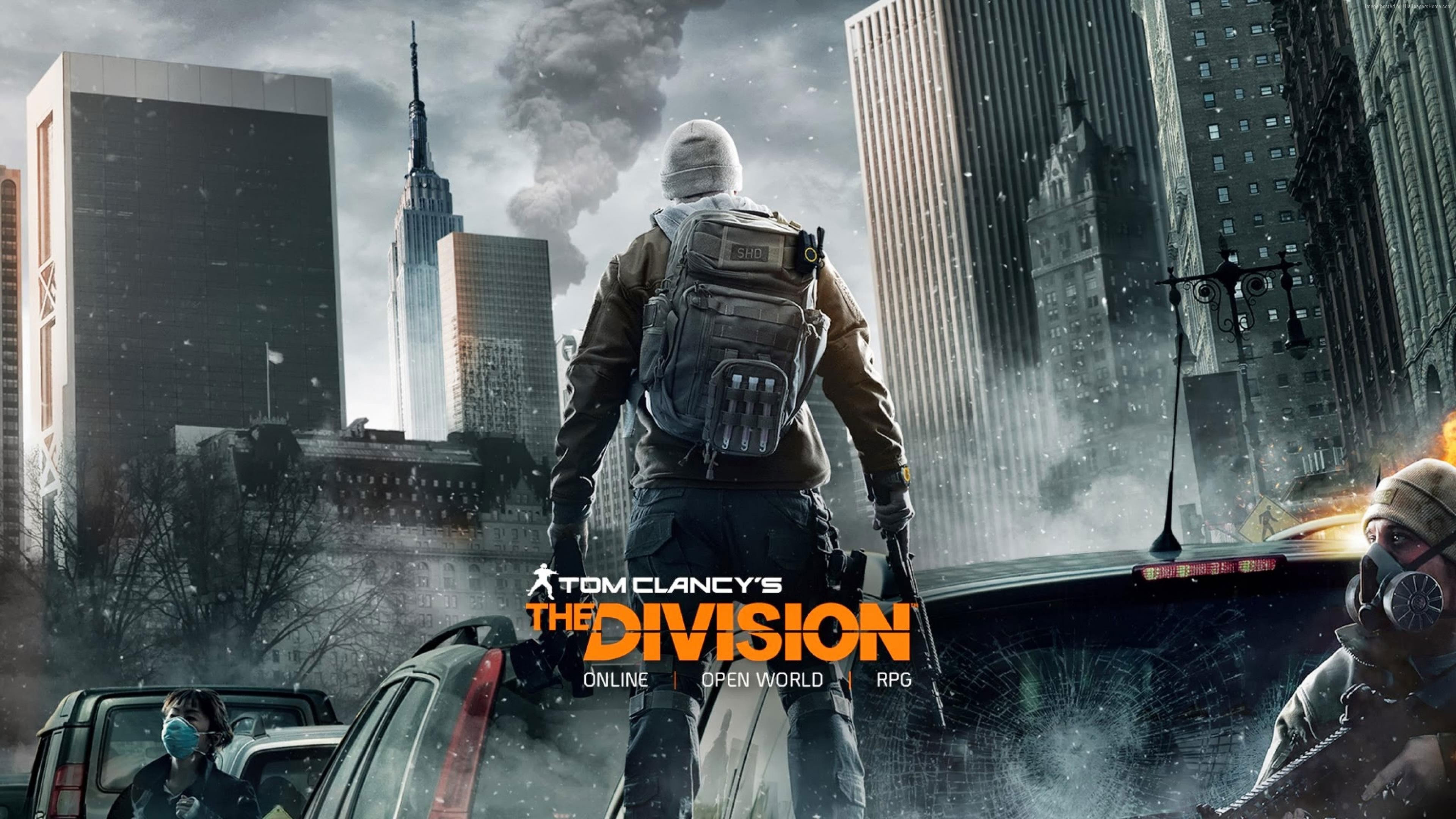 The Division 4K Wallpaper