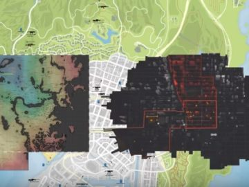 The Division vs GTA V vs Fallout 4: A Map Size Comparison