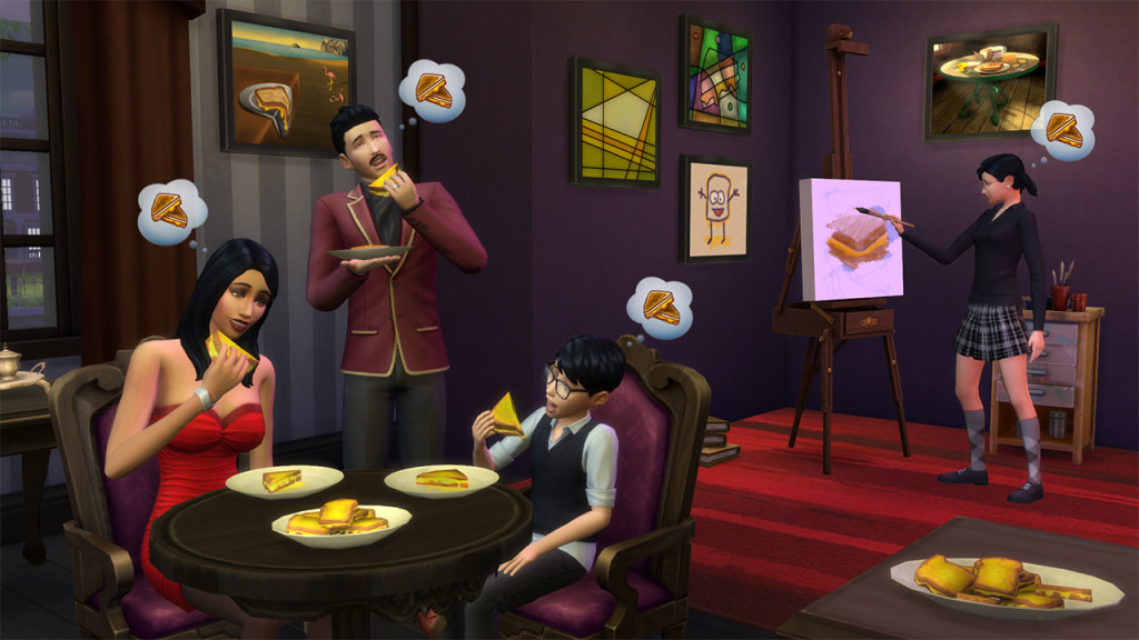 The Sims 4 Grilled Cheese Aspiration