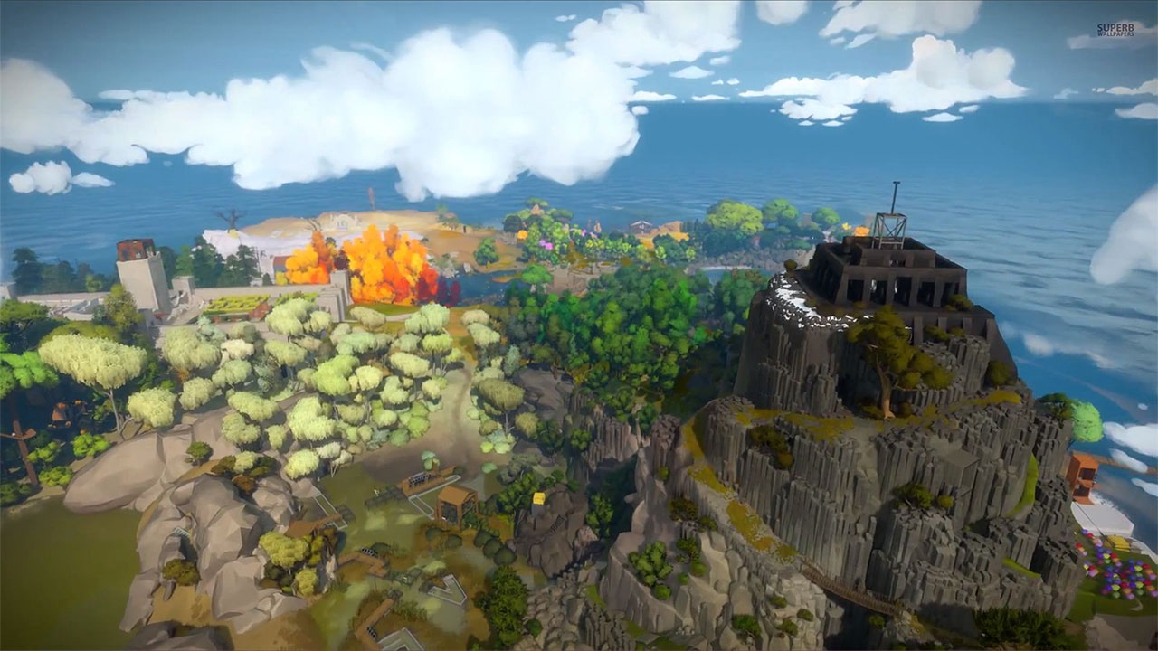 The witness wallpapers in ultra hd 4k gameranx - Wallpaper 1080p for pc ...