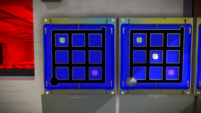 The Witness Multicolor Squares
