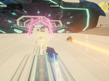 Tron Run/R Is a Platformer And Racing Hybrid That's Out Now For PC And PS4