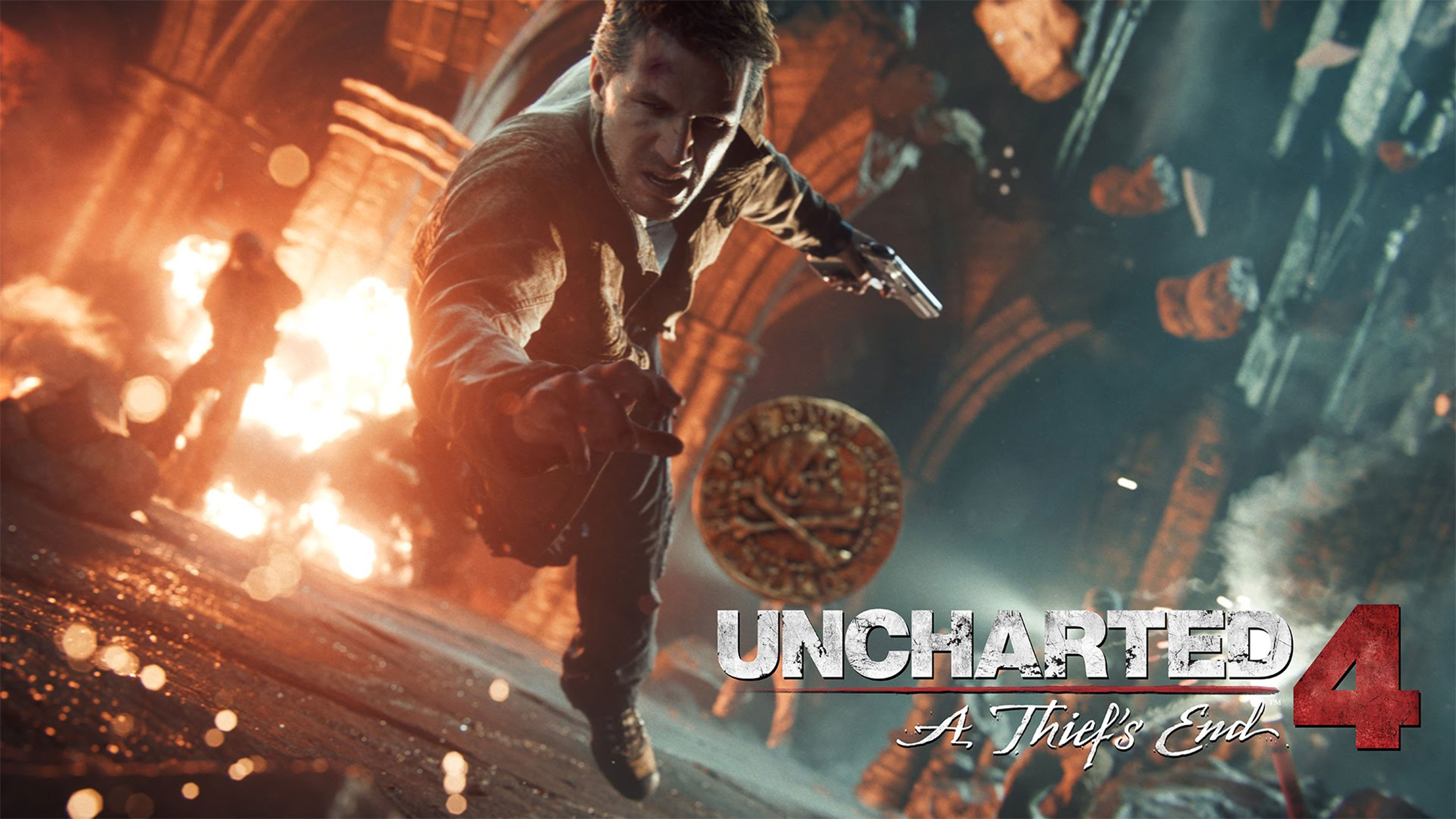 Uncharted 4 A Thiefs End 4K Wallpaper
