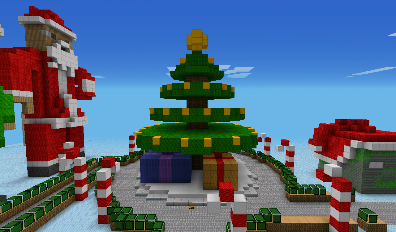 Christmas Minecraft World.Top 5 Christmas Themed Minecraft Maps Gameranx