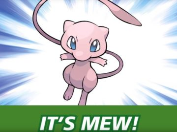 You Can Get A Free Level 100 Mew At GameStop Right Now
