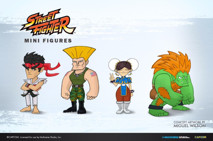 Street Fighter Mini Figures Collection Unveiled