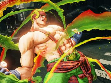 Capcom Introducing Alex In Street Fighter V March Update