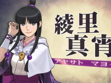 Ace Attorney 6 - Maya Fey Spring 2016 trailer