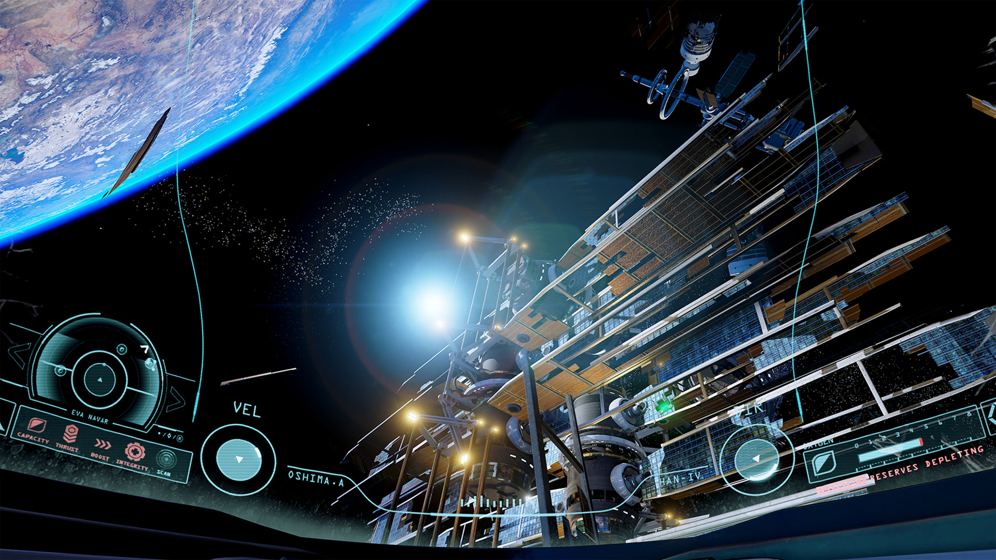 adr1ft wallpapers in ultra hd 4k gameranx. Black Bedroom Furniture Sets. Home Design Ideas