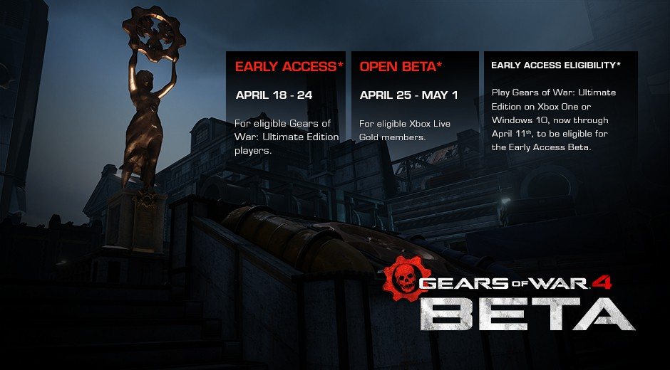 BETA_announce_Gears of War 4