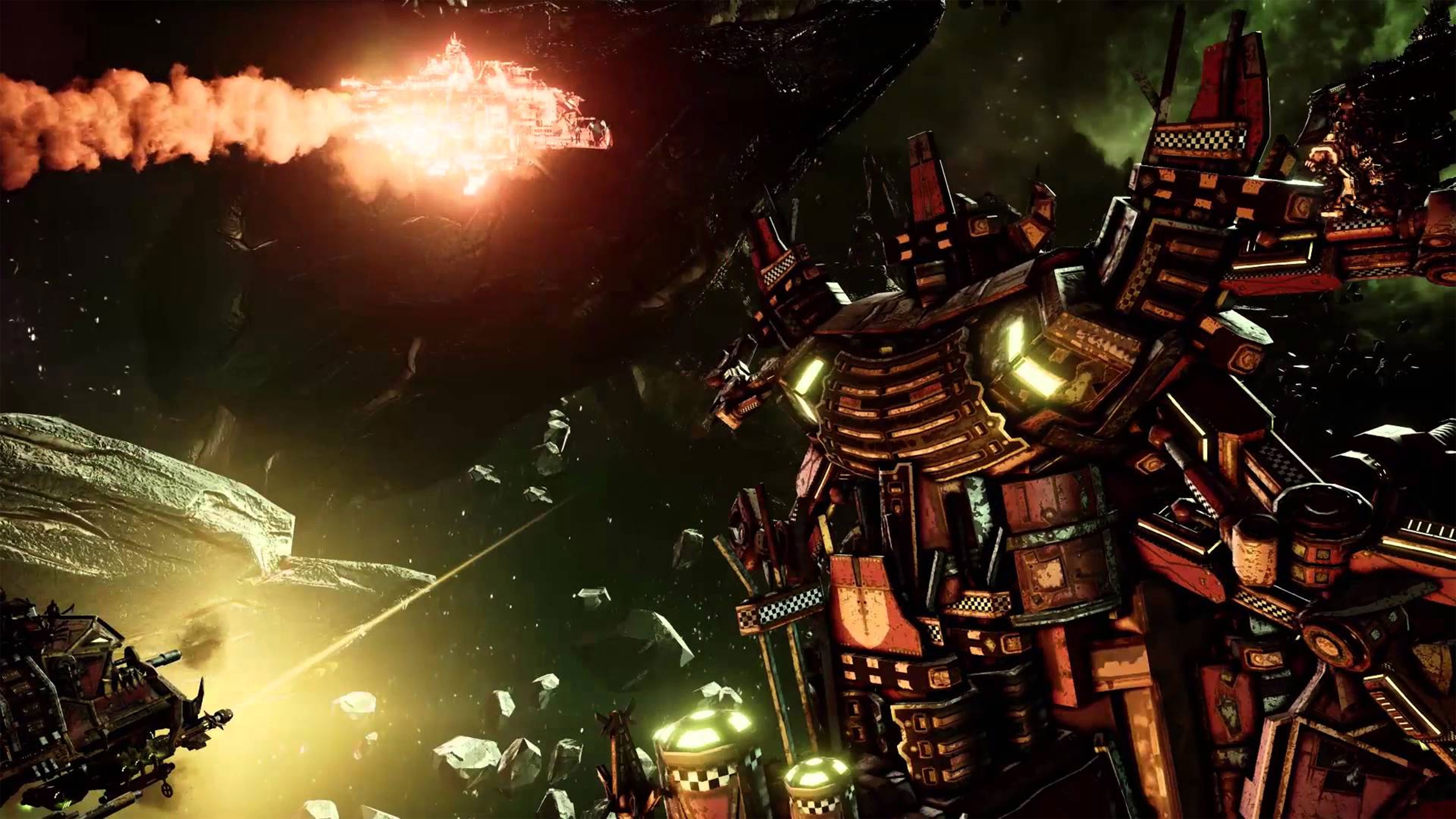 Battlefleet Gothic Armada Wallpapers In Ultra Hd 4k Gameranx