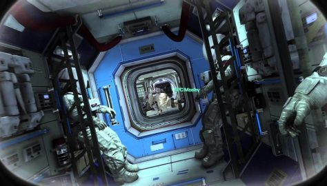 Call of Duty Ghosts space station