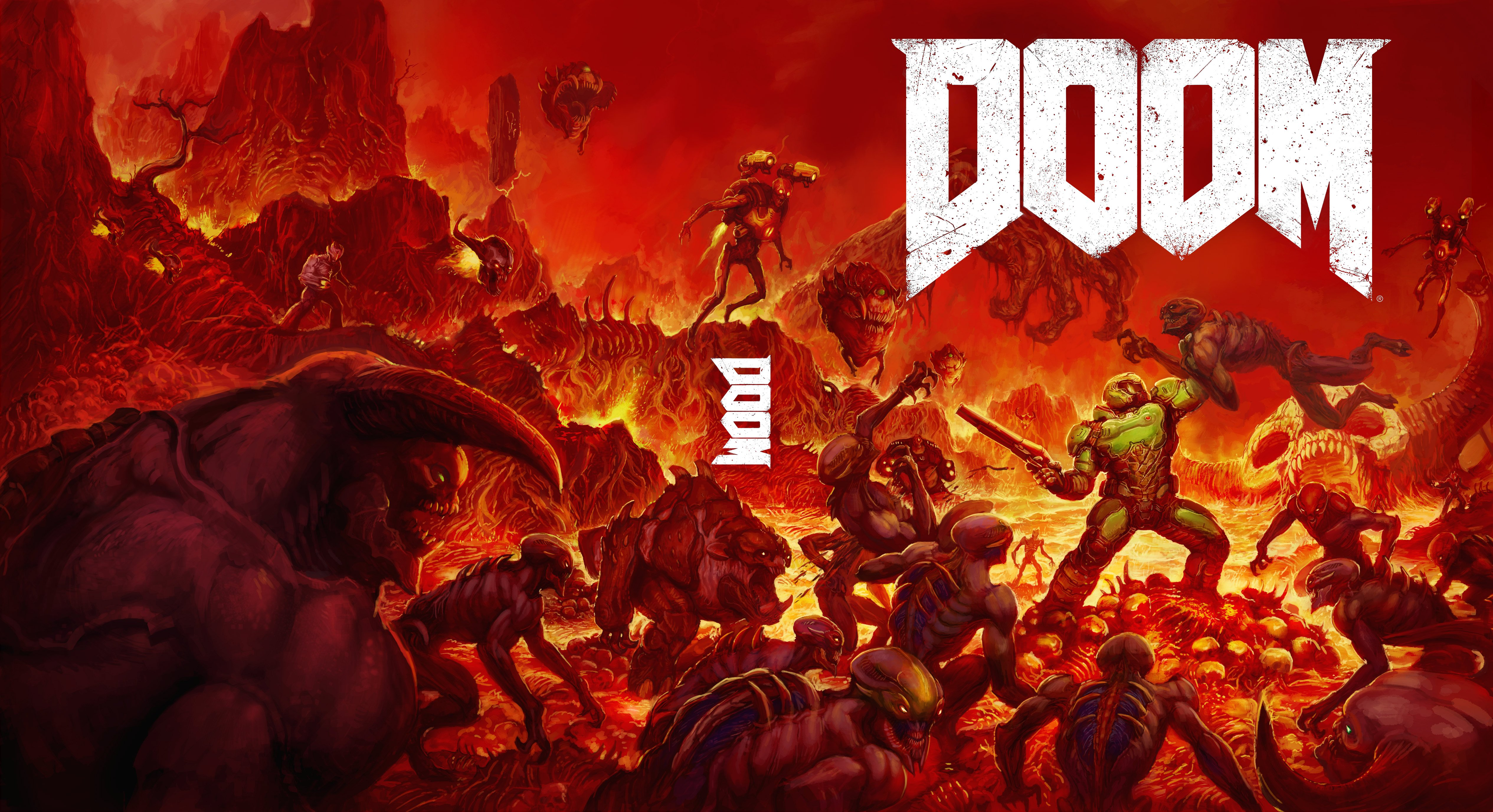 Watch How DOOM's Cover Art Was Designed In This Reverse Time-Lapse