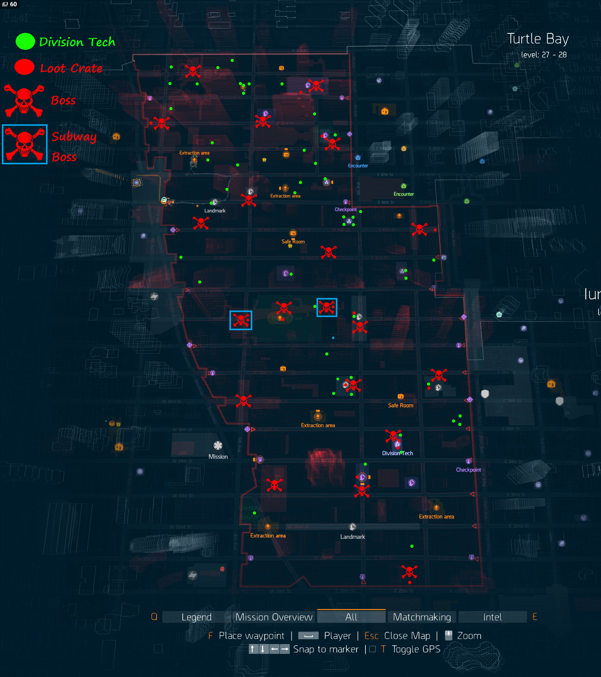 Division Tech Map