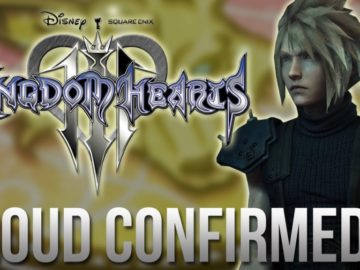 Kingdom Hearts 3 News - CLOUDS Return Confirmed_! (BQ)