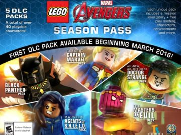 LEGO Marvel's Avengers Season Pass Includes Black Panther, Captain Marvel, And Doctor Strange