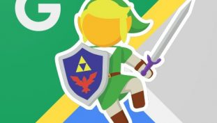 For A Limited Time, Link From The Legends of Zelda Is On Google Maps