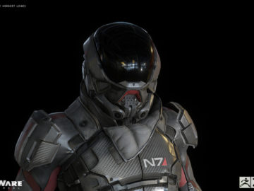 Get A Better Look At Mass Effect Andromeda's Protagonist