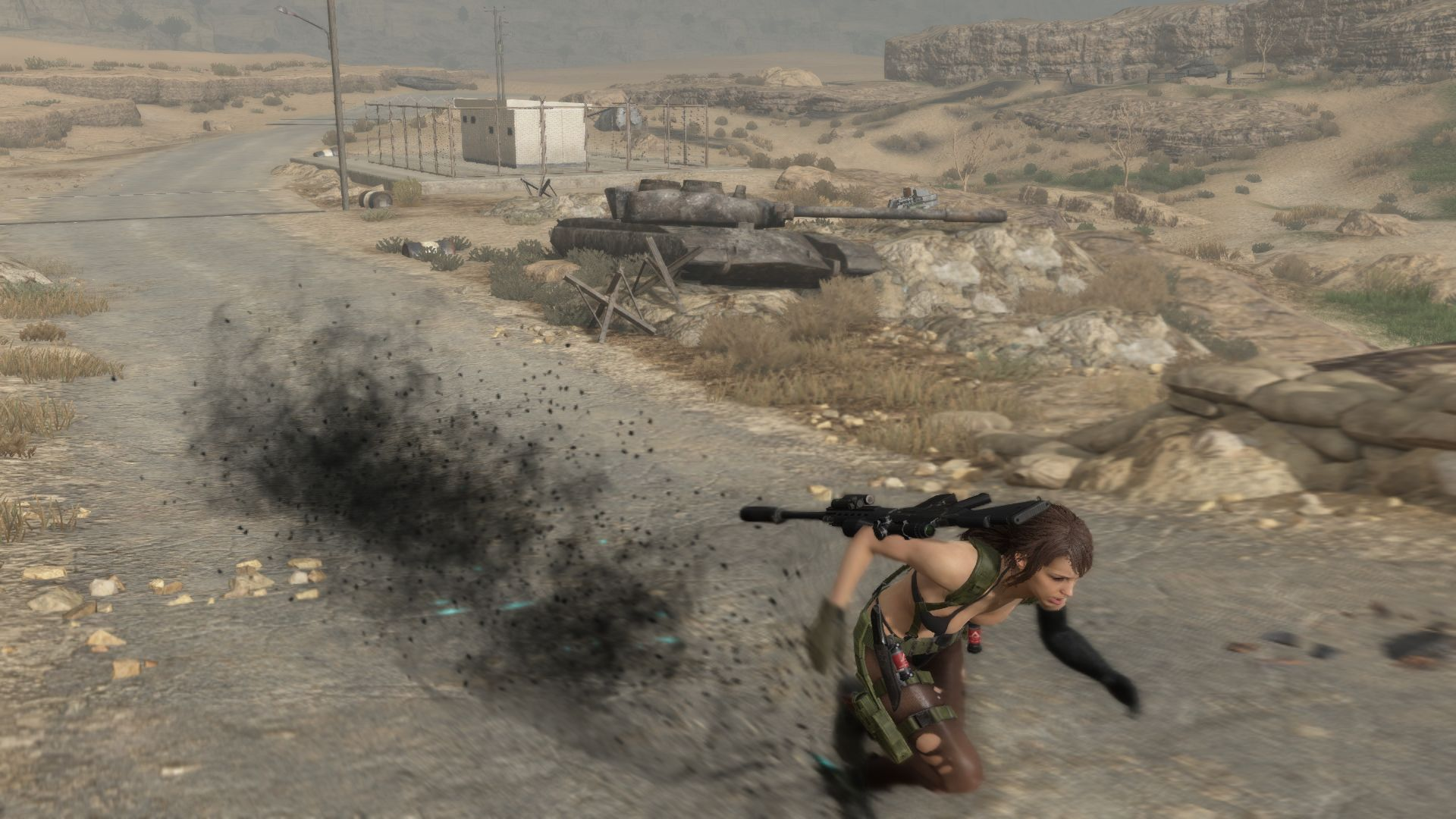 Metal Gear Online Quiet (1)